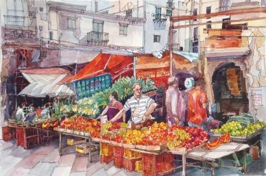 Balarro Market.Palermo