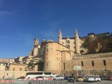 Urbino's magnificent walls